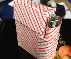 Halloween Duct Tape Crafts How To Make A Duct Tape Cigarette Case 6 Steps