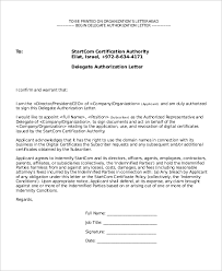 sample letter of authorization 9 examples in pdf word