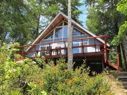 768 sq ft waterfront a frame cabin for sale in tahuya wa