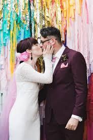 Wedding Backdrop Melbourne Lee U0026 Fenella U0027s Colourful Collingwood Wedding Nouba Com Au Lee