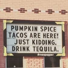 Pumpkin Spice Meme - pumpkin spice tacos are here meme guy