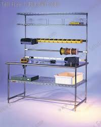 Wire Shelving Desk Rolling Wire Carts Stainless Storage Shelving Dallas Houston