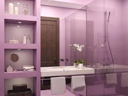 Black And Purple Bathroom Sets Beautiful Shower Curtain Closed White Bath Tub Side Simple Towels