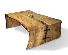 Cool Table Designs Hollow Log Table U003c3 Something To Do With My Hands Pinterest