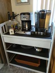 Coffee Bar Table Repurpose Baby Changing Table To Coffee Bar For Kitchen For The
