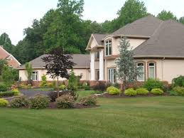 cheap landscaping ideas front of house pictures design ideas