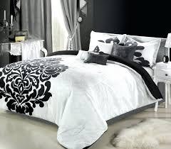 Black And White King Bedding Bedding Sets Black And White Bedding Set Bedding Design Most