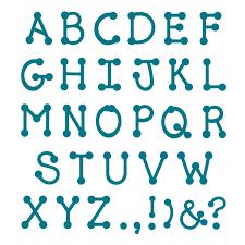 dj inkers dot alphabet accucut