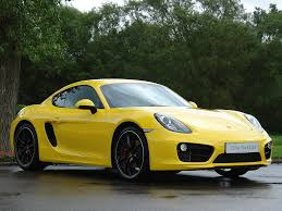 porsche cayman yellow current inventory tom hartley