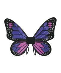 kids purple satin butterfly wings girls costumes