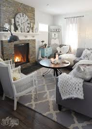 Winter Room Decorations - how to create a cozy hygge living room this winter the diy mommy