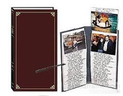 flip photo album flip up burgundy memo pocket album picture frames photo albums