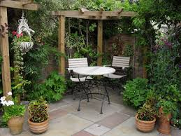 Garden Decorating Ideas Pinterest Find This Pin And More On Garden Small Courtyard Gardens Best