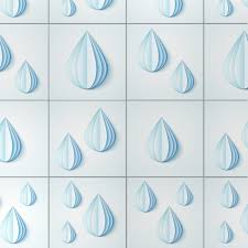 Tile Decals For Kitchen Backsplash by Water Drops Tile Decals