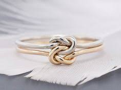 a knot ring gold knot ring shiny gold knot promise