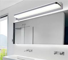 Acrylic Bathroom Mirror Aliexpress Com Buy 45cm Bathroom Mirror Wall Light Led Modern