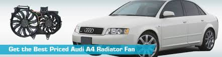 audi a4 radiator fan cooling system replacement action crash