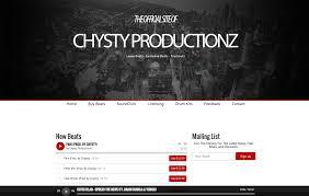 Design Inspiration Best Beat Producer Websites