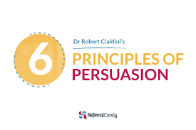 dr robert cialdini u0027s 6 principles of persuasion over 60