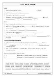 acids bases and ph worksheet by good science worksheets tpt