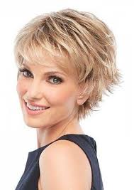 photo gallery of short hairstyles for women over 40 with fine hair