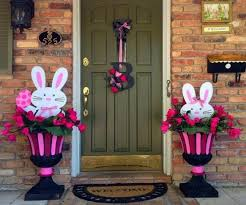 Easter Decorations For Window Displays by 123 Best Easter Outdoor Decorations Images On Pinterest Easter
