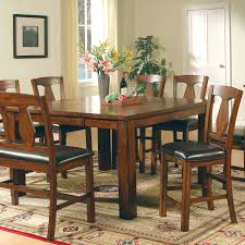 counter high dining room sets steve silver lakewood 5 piece counter height dining set hayneedle