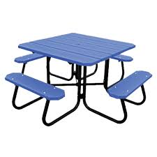 recycled plastic picnic tables earn leed points buy green and save