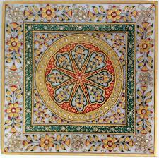indian jaipur marble plate decor art handmade floral motif indian jaipur marble plate decor art handmade floral motif rajasthani painting