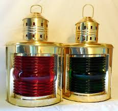 Nautical Lamps Nautical Brass Ship U0027s Lamps Sextants Compasses Telescopes