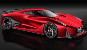 nissan elgrand insurance australia nissan concept 2020 vision gran turismo in new red hue