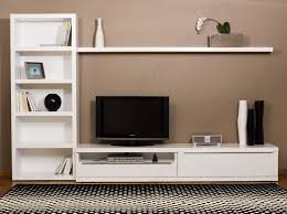 Wall Mounted Bedroom Storage Unit Furniture Terrific Contemporary Wall Unit With Long Low And Wall
