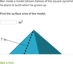 surface area high geometry practice khan academy
