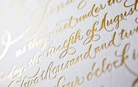 foil sted wedding invitations 2013 wedding trends foil sted invitations