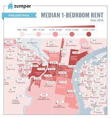Zip Code Map Of Philadelphia by Report University City Tops Most Expensive Neighborhood Rents In