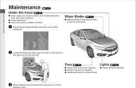 honda car manual 2016 honda civic sedan owners manual 10th civic forum