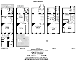 Georgian Floor Plan by 5 Bed Terraced House For Sale In Kensington Square London W8