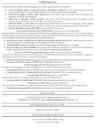 project manager resume samples free sample senior sales executive