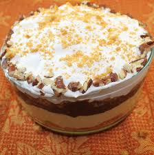 thanksgiving trifle recipes gingerbread chocolate pumpkin trifle recipe i can cook that