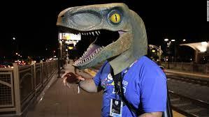 velociraptor costume costumes of comic con 2016