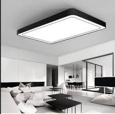 eclairage de bureau moderne bureau éclairage plafonnier minimaliste rectangulaire led