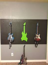 Painting Walls Different Colors by Rock Star Boys Room Paint Wall Color Paint Strip Trace Guitars