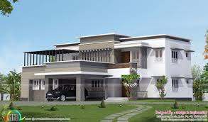 luxury 4 bedroom contemporary home 3200 sq ft house elevation