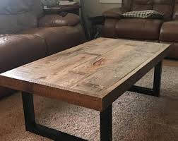Barn Board Coffee Table Reclaimed Wood Coffee Table Etsy