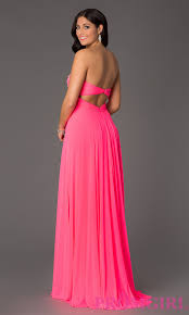 neon pink prom dress cocktail dresses 2016