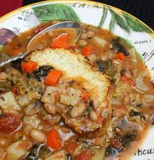 thanksgiving dinner toasts ribollita with parmesan toast wives with knives