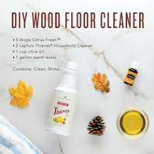 Cleaning Hardwood Floors Naturally Diy Thieves Wipes Essentials Oil And Natural