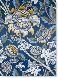designer wandle wandle printed fabric manufactured by morris and co and aymer