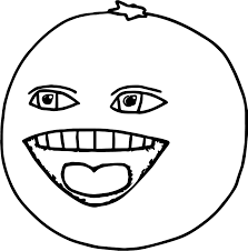 the annoying orange apple coloring page wecoloringpage