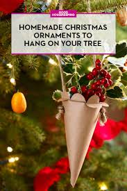Home Made Decorations For Christmas 50 Homemade Christmas Ornaments Diy Handmade Holiday Tree